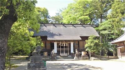 弟橘媛を祭る橘樹(たちばな)神社(千葉県茂原市)