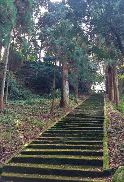 馬見神社の参道