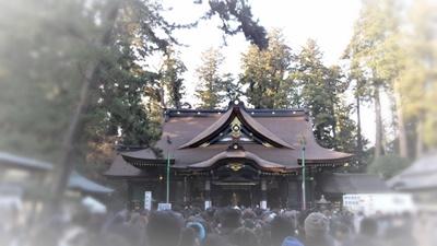 初詣でにぎわう香取神宮