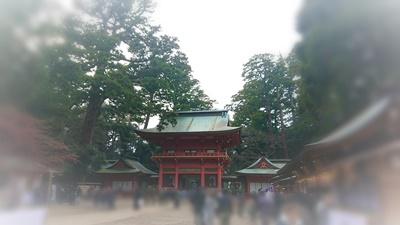 新春の鹿島神宮