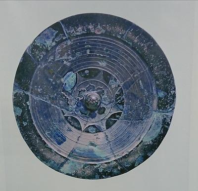 糸島市平原遺跡出土の大型内行花文鏡