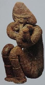 上岡遺跡(福島県)土偶