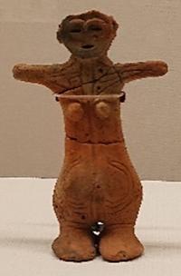 姥ヶ沢遺跡(長野県)土偶